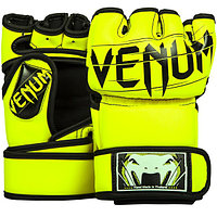 Перчатки MMA (шингарты) Venum Undisputed 2.0 Neo Yellow