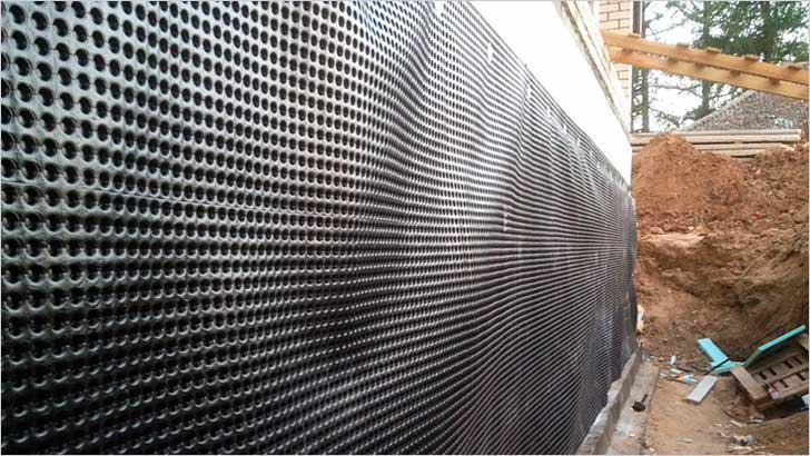 Гидроизоляция фасадов и витражей