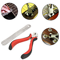 2PCS Guitar Fret Puller String Cutter Fret Protector Guard для Guitar Player