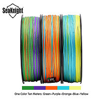 SeaKnight W8 500M 8 Strands Рыбалка Line Multi-Colours 20-100LB Соленая вода плетеная Провод, фото 2
