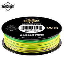 SeaKnight W8 500M 8 Strands Рыбалка Line Multi-Colours 20-100LB Соленая вода плетеная Провод, фото 3