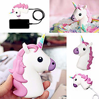 Unicorn Shaped Portable Backup Батарея 2600mAh Power Bank для Xiaomi 6 Samsung S8 iPhone 7 Plus