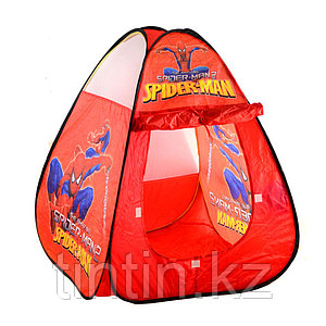 "Детская палатка домик ""Человек Паук"" 75х75х100, 1021B-1"