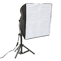 16 дюймов Photo Studio Фотография Cube Light Tent Backdrop 3 Софтбоксы освещения Kit