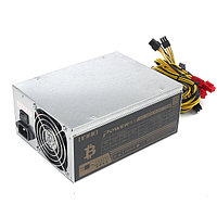 1800W Mining Power Supply Power Mining Machine Mining Rig для Эт Биткойн Шахтер Antminer S7 S9 90