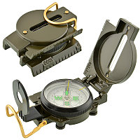 IPRee® Водонепроницаемы Luminous Compass American Multifunctional Folding Pointer Guide 1: 25000 Карта Шкала