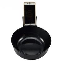 Тарелка с подставкой для телефона