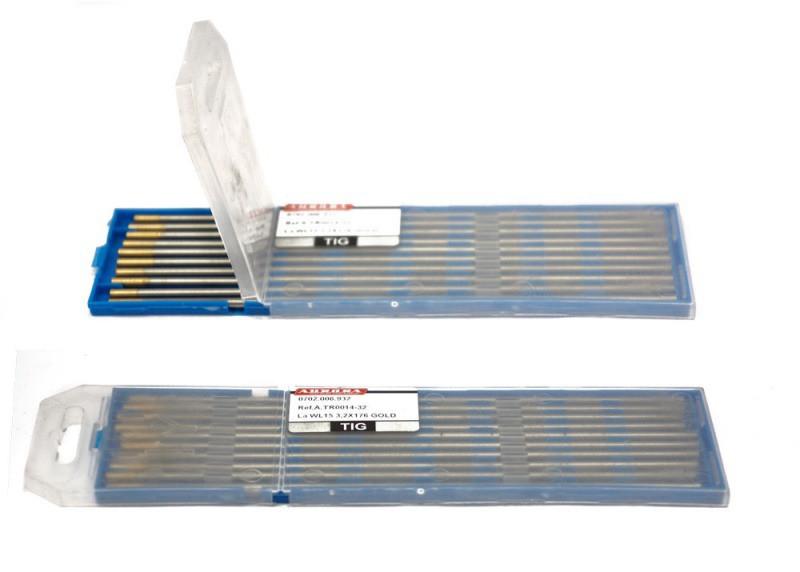 Вольфрамовый электрод WL 15 d 2,4x175mm GOLD