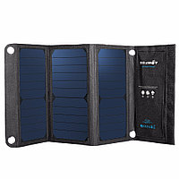 BlitzWolf® 20W 3A BW-L1 Foldable Portable Sun Power Solar Charger USB Solar Panel Charger with Power3S for iPhone 6s / 6 / Plus, iPad Air / mini,
