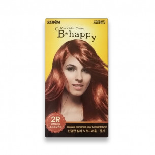 SEWHA HAIR COLOR CREAM, 2R SOFT ORANGE