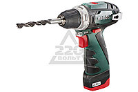 Аккум.дрель METABO POWERMAXX BS x2 (600080500)  10.8В 2x2.0Ач LiION 10мм 0-360/0-1400об/мин 34/17Нм