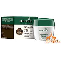 Маска для роста волос Мускатный Орех (Bio Musk Root Fresh Growth Nourishing Treatment Pack BIOTIQUE), 230 г