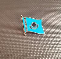 Значок Флаг Казахстана, фото 1