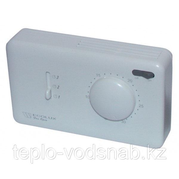 Термостат комнатный Ecolux Fan Comfort (для фанкойлов)