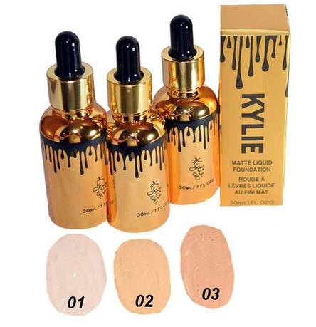 KYLIE Matte Liquid Foundation 01\02\03 тоналка