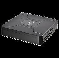 IP-видеорегистратор  поддерживает подключение 4 IP-камер видеонаблюдения- NR-04120