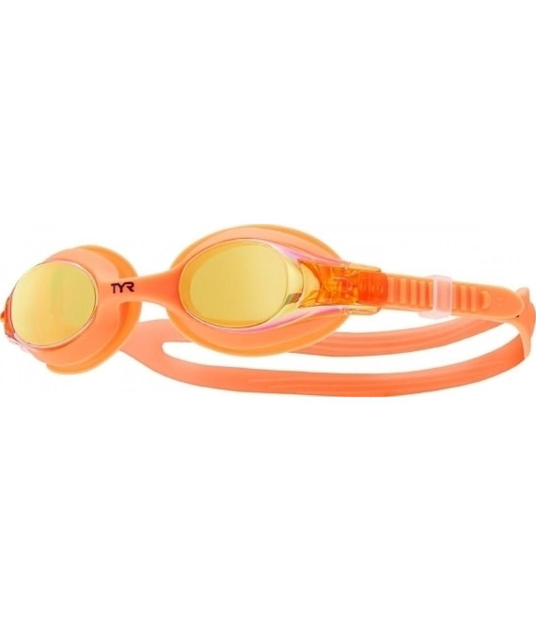 Очки для плавания детские TYR Swimple Mirrored 841