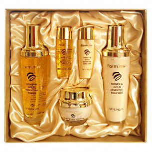FARMSTAY HONEY & GOLD SKIN CARE SET