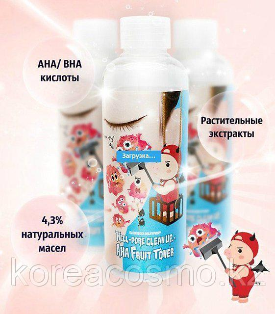 Elizavecca Пилинг Hell-Pore Clean Up Aha Fruit Toner 200мл