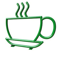 """Велопарковка. Велопарковка """"Чашка кофе""""."""