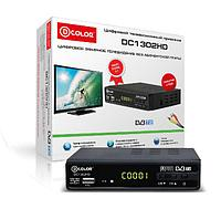 Dcolor DC1302HD DOLBY DIGITAL цифровой приемник OTAU TV гарантия 2 года