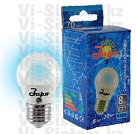 Лампа светодиодная Заря 8W E27 6400K G45