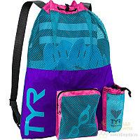 Рюкзак для аксессуаров TYR Big Mesh Mummy Backpack 545