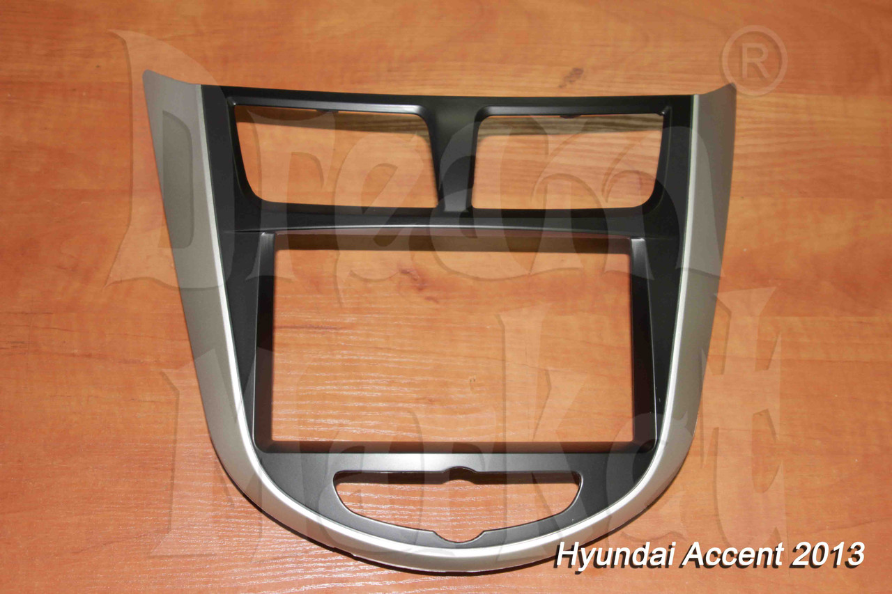 Переходная рамка Hyundai Accent, 2DIN, пластик