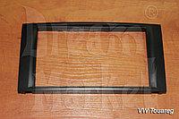 Переходная рамка Volkswagen Touareg, 2DIN, пластик, черный, фото 1