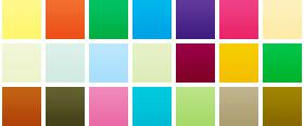 Простые цвета SF1-97