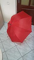 Зонт красный трость, фото 1