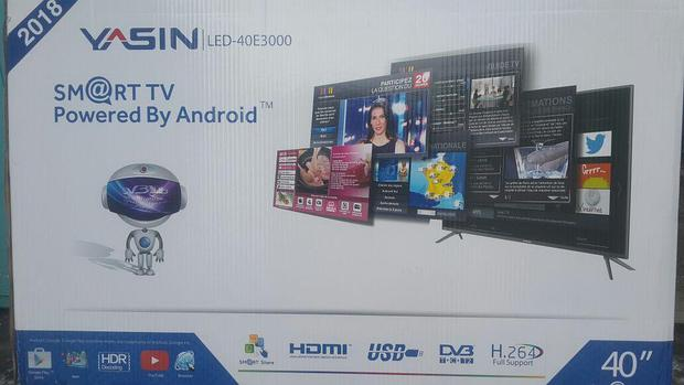 Телевизор YASIN LED-40E3000 SMART WI-FI