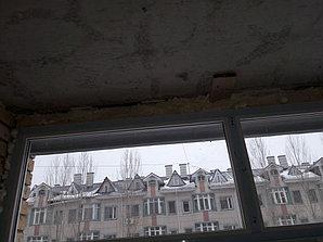 Утепление балкона с обшивкой декор панелью Акбулак 3 10