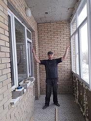 Утепление балкона с обшивкой декор панелью Акбулак 3 16