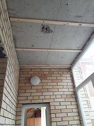 Утепление балкона с обшивкой декор панелью Акбулак 3 15