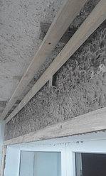 Установка балконной рамы с обшивкой балкона по всему периметру. ул. Бесекпаева 3 18