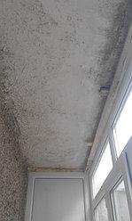 Установка балконной рамы с обшивкой балкона по всему периметру. ул. Бесекпаева 3 26