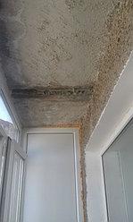 Установка балконной рамы с обшивкой балкона по всему периметру. ул. Бесекпаева 3 31
