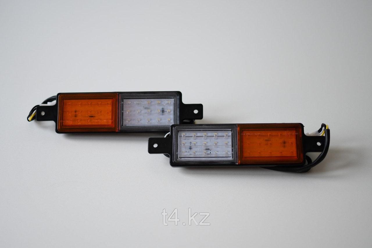 Поворотник/габаритный свет светодиодный в силовой бампер- IRONMAN 4X4