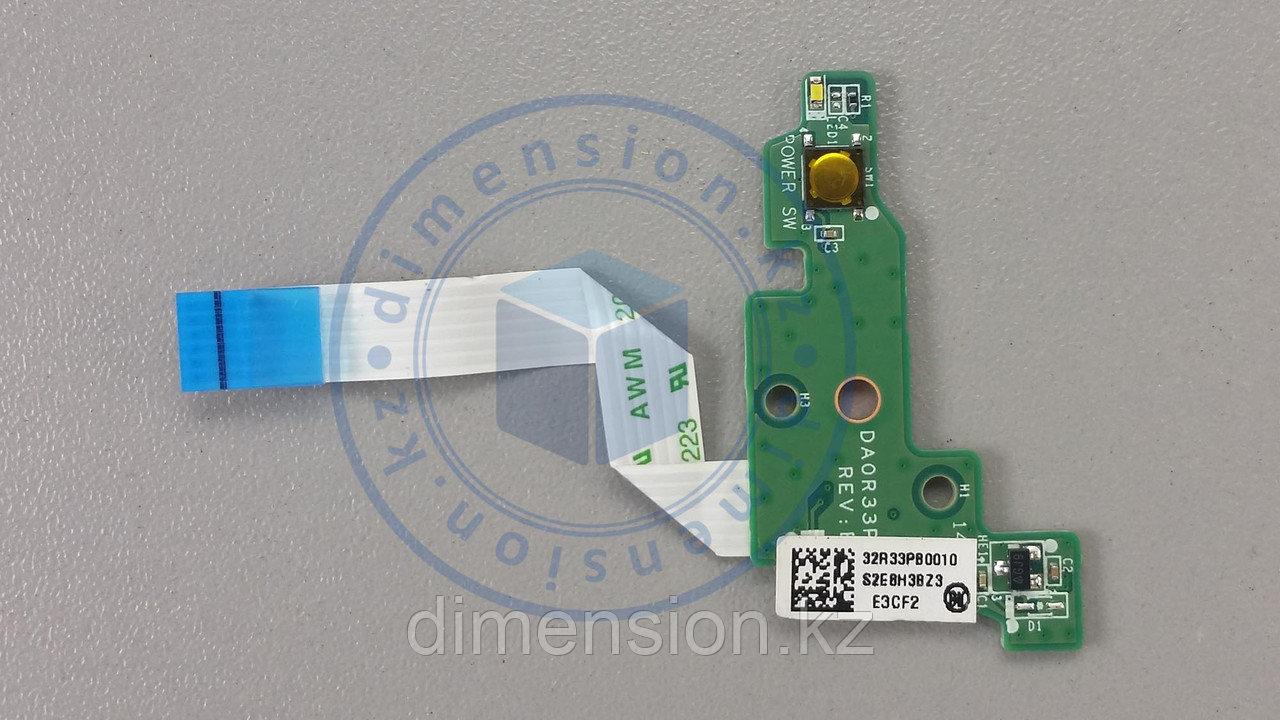 Кнопка включения DA0R33PB6E0 HP Pavilion G6-2000 series
