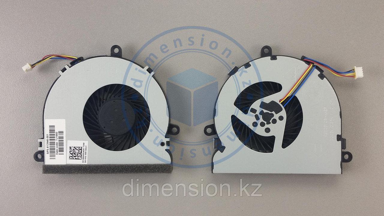 Кулер, вентилятор 4pin 813946-001 HP 250 G4 G5 255 15-A 15-AC Series
