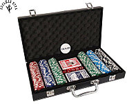 Покерный набор Pokerset Leather Case 300 Value 11.5gram