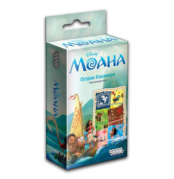 Настольная игра: Моана: Остров Какамора