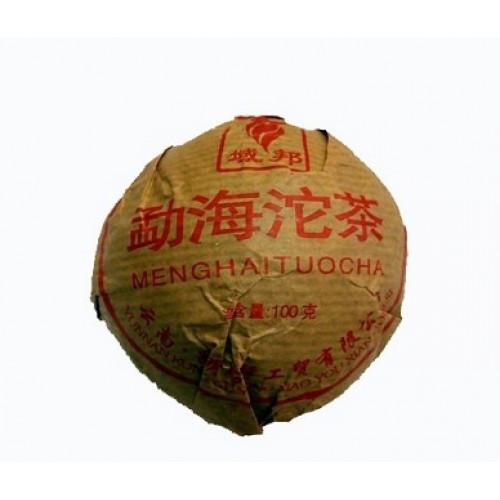 Пуэр Шу Мэнхай, 2005 г, 100 гр (гнездо)