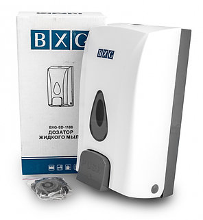 Дозатор жидкого мыла BXG SD 1188 (механический), фото 2
