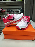 Женские кроссовки nike air max 2017 Version III (3) White pink
