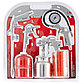 (57302) Набор пневмоинструмента, 5 предметов, быстросъемное соед., краскорасп. с нижним бачком// MATRIX, фото 2