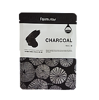 FarmStay Visible Difference Charcoal Mask Маска с древесным углем 23 гр.