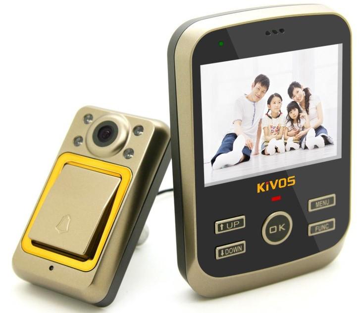 Беспроводной видеоглазок Home bell, модель Kdb01, производитель Kivos