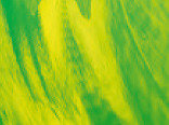 Витражная пленка с абстрактным рисунком Green (Зеленый огонек)